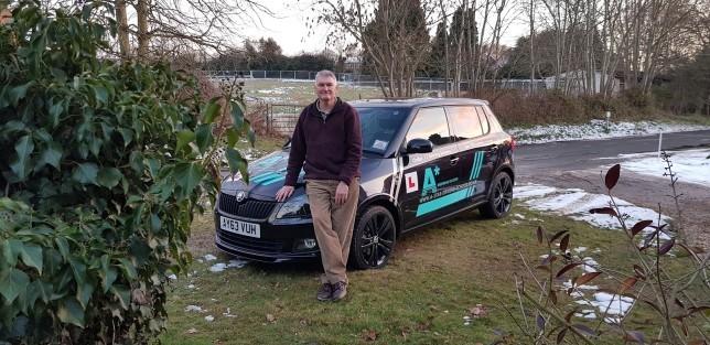 Ralph and car